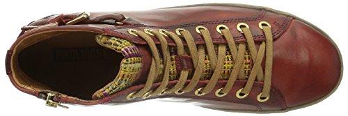 PikolinosLAGOS 901-2 - Scarpe da Ginnastica Basse Donna Rosso (Arcilla)