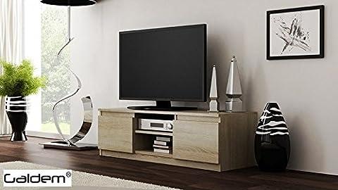 TV Lowboard Board Fernseher Schrank Fernsehtisch TV-Möbel Unterschrank