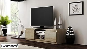 TV Lowboard Board Fernseher Schrank Fernsehtisch TV Möbel Unterschrank  (Sonoma)