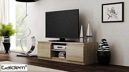 TV Lowboard Board Fernseher Schrank Fernsehtisch TV-M?bel Unterschrank (Sonoma)