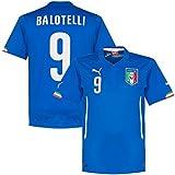 Puma Italien Home Trikot WM 2014 Mario Balotelli Blau, 7472500201_Größe:140
