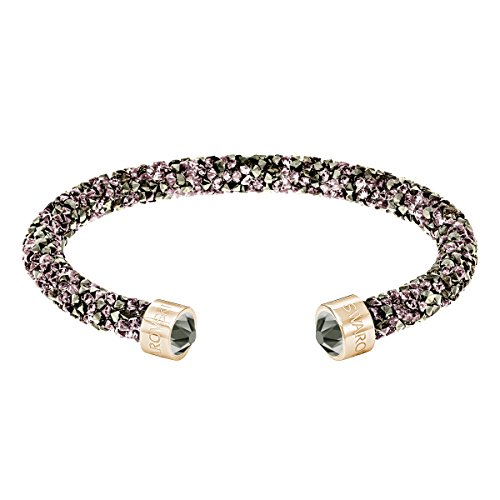 Swarovski bracciale rigido crystaldust, multicolore