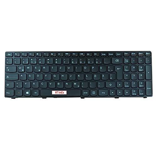 Tastatur - Farbe: Schwarz - Deutsches Tastaturlayout Version 2 kompatibel für Lenovo Ideapad G500, G505, G510 G510AM, G505AM G700, G710 G700A, G700AT G505AM, G510A -