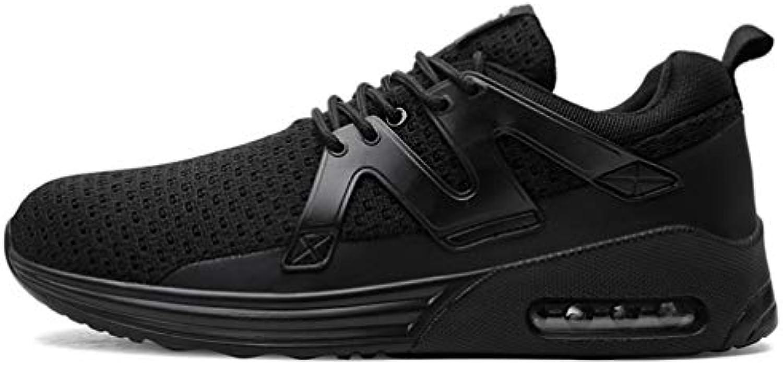 HDWY scarpe Da da ginnastica Che Volano Tessuto Scarpe Da scarpe Corsa Cuscino D'aria,nero,46 2e4aeb