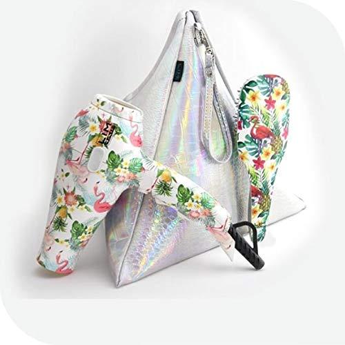 Travel Pack W20 Secador de viaje+cepillo tanglim+ neceser TROPICAL