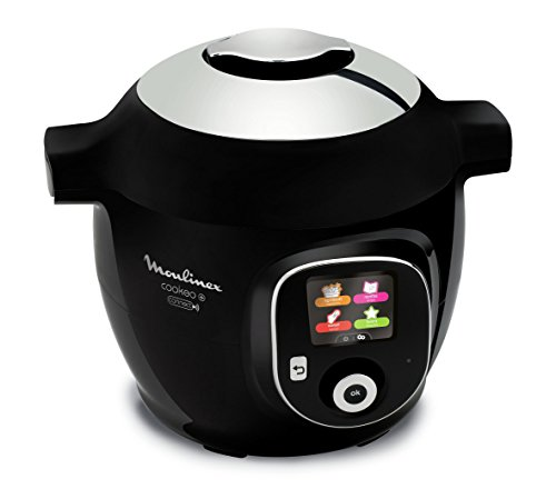 Robot Moulinex Multicuiseur Intelligent Cookeo + Connect Application connectée via Bluetooth 150 recettes 6L