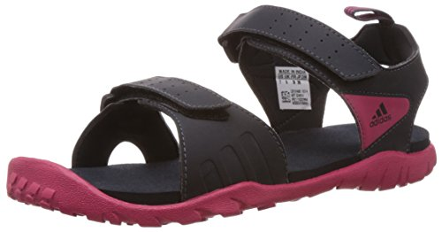 adidas Women's Escape W Grey Fashion Sandals and Floaters - 8 UK  available at amazon for Rs.1999
