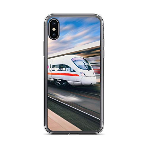 blitzversand Handyhülle Zug LOKOMOTIVE Bahnhof kompatibel für Samsung Galaxy S5 Mini Ice Generation 3 Schutz Hülle Case Bumper transparent rund um Schutz Cartoon M11