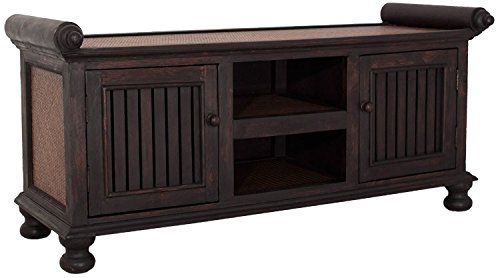 Asiatika-Online.de Rattan KOMMODE TV Schrank TV KOMMODE Sideboard China Möbel Asia Antik 110x50 '8