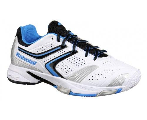 BABOLAT Drive 3 All Court Scarpa da Tennis Uomo Bianco/Blu