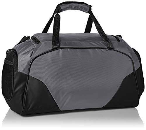 Best under armour bag in India 2020 Under Armour Undeniable 3.0 Large Duffle Bag, Graphite/Black, One Size Image 3