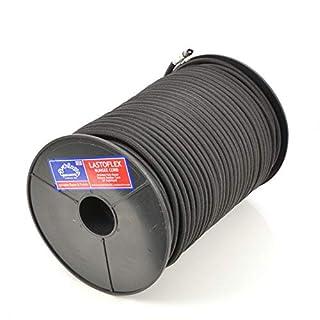 EVERLASTO LASTOFLEX Bungee Cord Black 100M REELS - 10MM