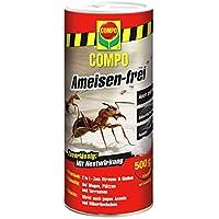 COMPO Ameisen-frei, Staubfreies Ködergranulat mit Nestwirkung, 500 g