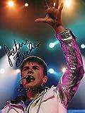 THEPRINTSHOP Photo dédicacée par Justin Bieber Édition limitée + autographe imprimé CERT.