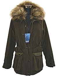 Hunter Outdoor Gamekeeper Ladies Rider Jacket OLIVE