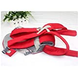[H8667R]Convenient Baby carriers Slings Backpacks Decompression strap Red