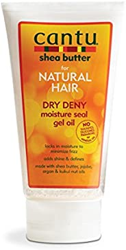Cantu Shea Butter for Natural Hair Dry Deny Moisture Seal Gel Oil, 5 Ounce