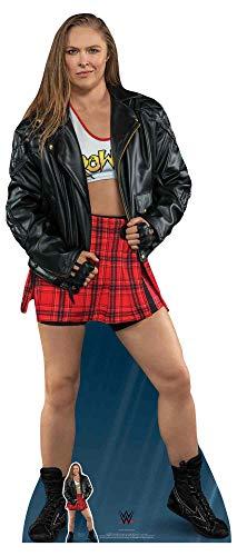 (Star Cutouts SC1202 Offizielle WWE Figur Ronda Rousey in Lebensgröße, 172 cm, mehrfarbig)