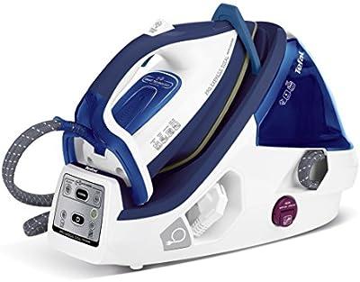 Tefal Pro Express Control GV8960E0 - Centro de planchado (autonomía ilimitada, 6 bares de presión, suela Ultragliss y función eco), color azul