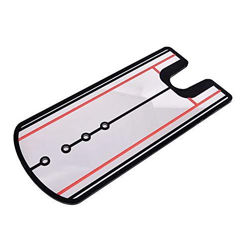 GNSDA Golf-Putting-Spiegel, tragbare Ausrichtungs-Swing-Golf-Trainingshilfen, Übungsausrüstung und -zubehör, Tutor für Augen-, Schulter- und Gesichtswinkel, Putter-Pfad, Startlinie
