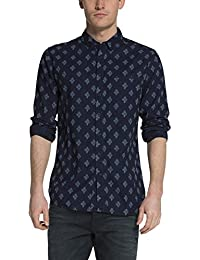 Scotch & Soda 15060620310 - Chemise Casual - coupe droite - Manches Longues - Homme