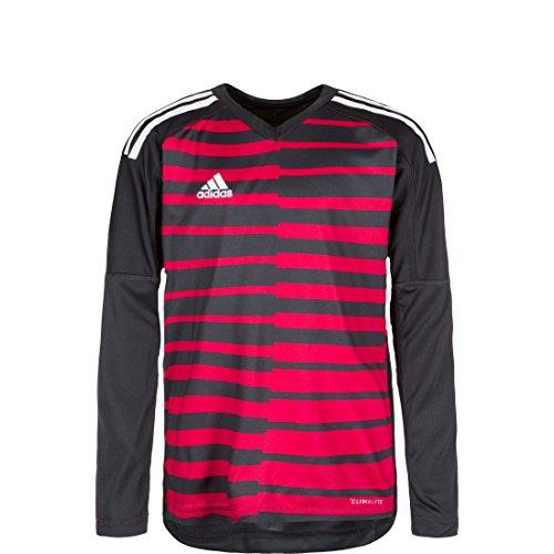 adidas Kinder Adipro 18 Goalkeeper Jersey Longsleeve Torwarttrikot, Dark Grey/Unity Pink/White, 164