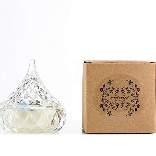 Candle einfache Aromatherapie ätherisches Öl anhaltenden Duft umweltfreundliche Anordnung liefert Kerzen wie in Limettenbasilikum gezeigt -