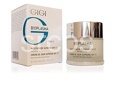 GIGI Bioplasma Moisturizer Supreme SPF 17 (For Normal To Oily Skin) 50ml 1.75fl.oz