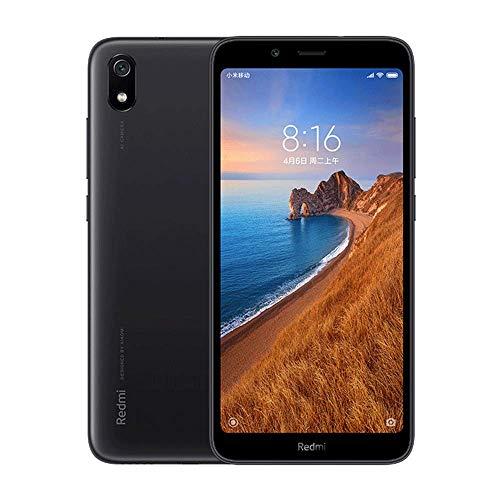 Smartphone Xiaomi redmi 7A, 2GB RAM 16GB ROM Dual SIM 5.45 '' Pantalla Completa HD, Qualcomm Snapdragon SDM439 Octa-Core Processador,font Gran,Cambra Posterior de 13MP Cambra Frontal de 5MP (negre)