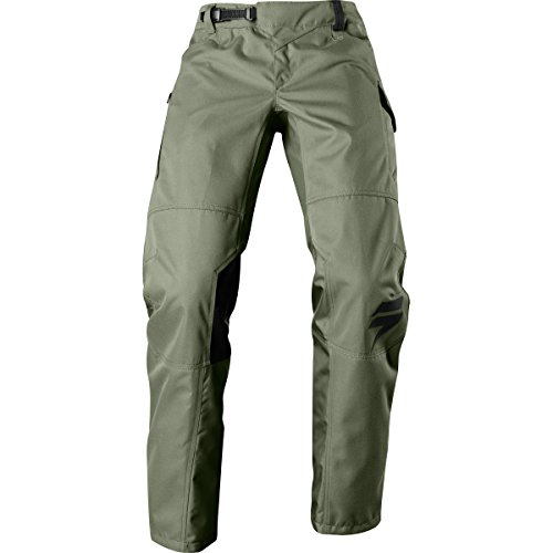 Shift R3Con Drift Pant, Green, Größe 34 (Über Die Knie-reißverschluss-boot)