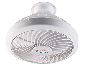 Bajaj Ultima 75-Watt Cabin Fan (White)
