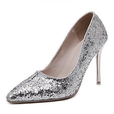 Moda Donna Sandali Sexy donna tacchi Primavera / Estate / Autunno / Inverno Comfort / Matrimoni Party & sera abito / Stiletto Heel argento Silver