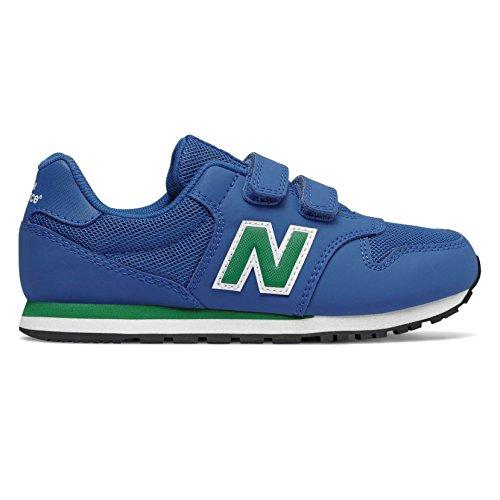 New Balance 500 Scarpe Sneaker Bambino Ragazzo Blu KV500YUY-BLUE/GREEN