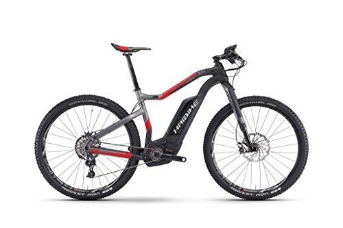 E-MTB Haibike XDURO HardSeven Carbon 10.0 27,5', Rahmenhöhen:45;Farben:Carbon/Anthrazit/Rot matt