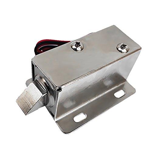 Sharplace Dc12v Elektroschloss Schranktür Schubladen Zunge Magnetschloss Sicherheitsschloss Elektronisches Schloss (Elektronisches Sicherheitsschloss)