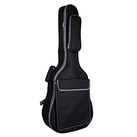 Lujex Pro 41 Inch Acoustic Guitar Waterproof Thicken Padded Double