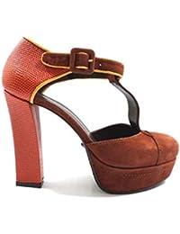 Zapatos Mujer Guido SGARIGLIA 40 EU Zapatos de Salón Negro Gamuza AY115 WjpNCFsJv3