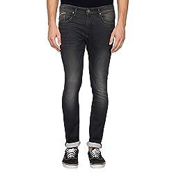 LP Jeans By Louis Philippe Mens Albert Fit Jeans (LRDN517R010780_Grey_36)