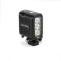 Knog Qudos Action Flash pour Caméra de Sport GoPro Noir