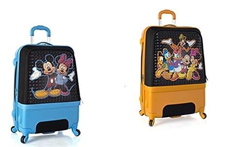 PREMIUM DESIGNER Hardside Luggage set 2 pcs. - Heys Disney Clubhouse Trolley with 4 Wheels Medium + Trolley with 4 Wheels Large 470575031&Disney&239+240