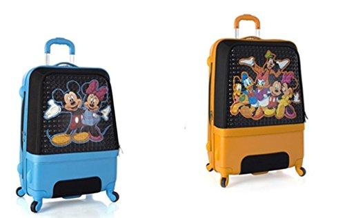 PREMIUM DESIGNER Hartschalen Kofferset 2 tlg. - Heys Disney Clubhouse Trolley mit 4 Rollen Medium + Trolley mit 4 Rollen Gross 243654011&Disney&239+240