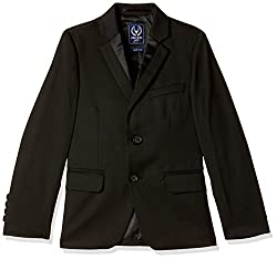 Allen Solly Junior Boys Cotton Jacket (AKBJK517997 10 Black)