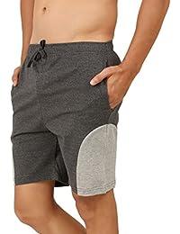 Clifton Mens Shorts MB04 -Charcoal Melange\Grey Melange