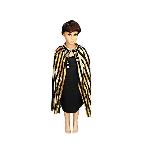Xueliee Kinder Halloween Kostüm PaillettenWizard Hexe Cape Cape Robe