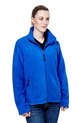 Uneek Ladies Classic Full Zip Fleece Jacket Womens Micro Fleece - 4 Colours Available