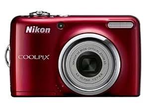 Coolpix L23 (Rouge, 10,1MP, Zoom 5x Nikkor, Piles AA)