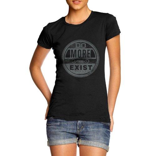 TWISTED ENVYDamen T-Shirt Schwarz - Schwarz