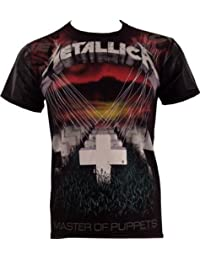 Metallica Master Of Puppets - Faded Allover T-Shirt black M