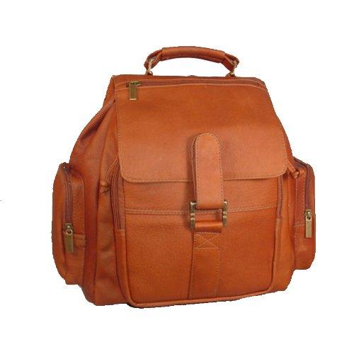 david-king-co-mid-size-top-handle-rucksack-tan-eine-grosse