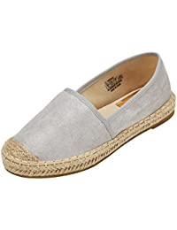d3a0d78c5af JENN ARDOR Espadrille Sneakers for Women  Classic Fabric Casual Walking  Flats Slip-On Comfortable